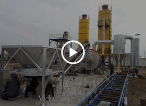 哈萨克斯坦干粉砂浆生产线,瓷砖胶生产线,烘干机生产线